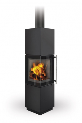 ESQUINA steel - fireplace stove