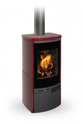 MERU N 01 ceramic - fireplace stove