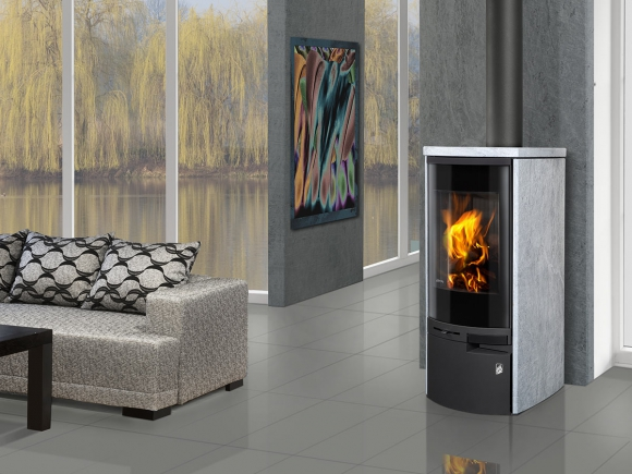MERU N 02 serpentine - fireplace stove