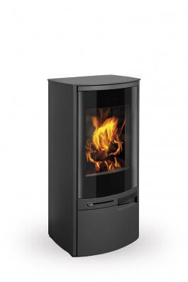 MERU N 03 steel - fireplace stove