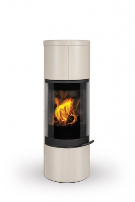 SORIA 01 ceramic - accumulation fireplace stove