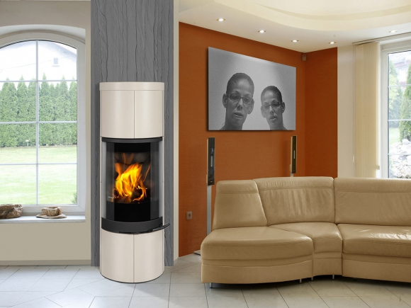 SORIA 01 ceramic - fireplace stove