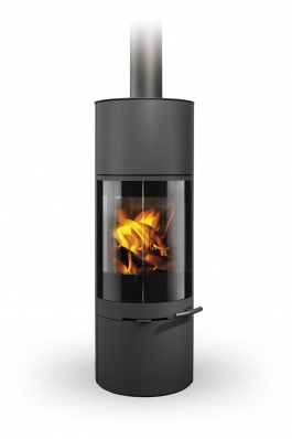 SORIA 03 steel - fireplace stove