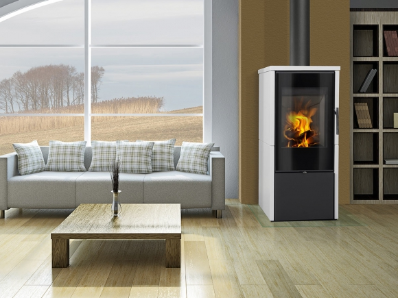 LAREDO F 01 ceramic - fireplace stove