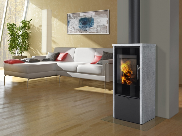 LAREDO F 02 serpentine - fireplace stove
