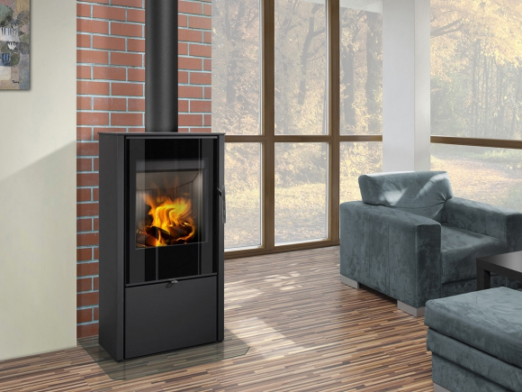 LAREDO F 03 steel - fireplace stove