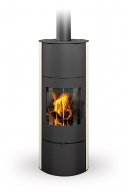 EVORA 01 A ceramic - fireplace stove