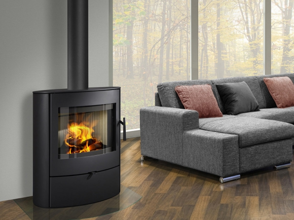NAVIA 03 steel - fireplace stove