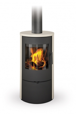 EVORA 01 ceramic - fireplace stove