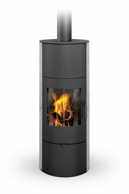 EVORA 02 A serpentine - fireplace stove