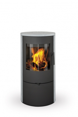 EVORA 02 serpentine - fireplace stove