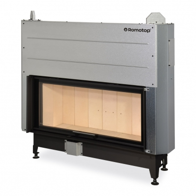 HEAT 3g L 110.50.01 - hot-air fireplace insert with lifting door