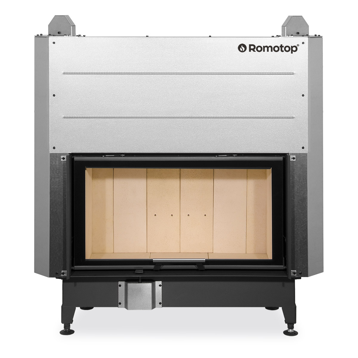 HEAT 3g L 88.50.01 - hot-air fireplace insert with lifting door