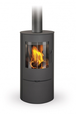 EVORA 03 steel - fireplace stove