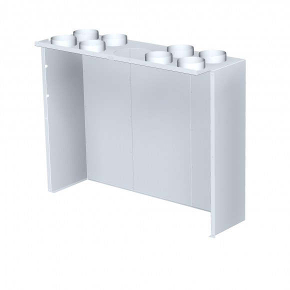 CONVECTION COVER for HEAT 3g L 110.50.01 fireplace insert