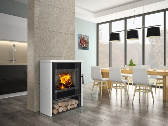 ALEDO 01 ceramic - fireplace stove