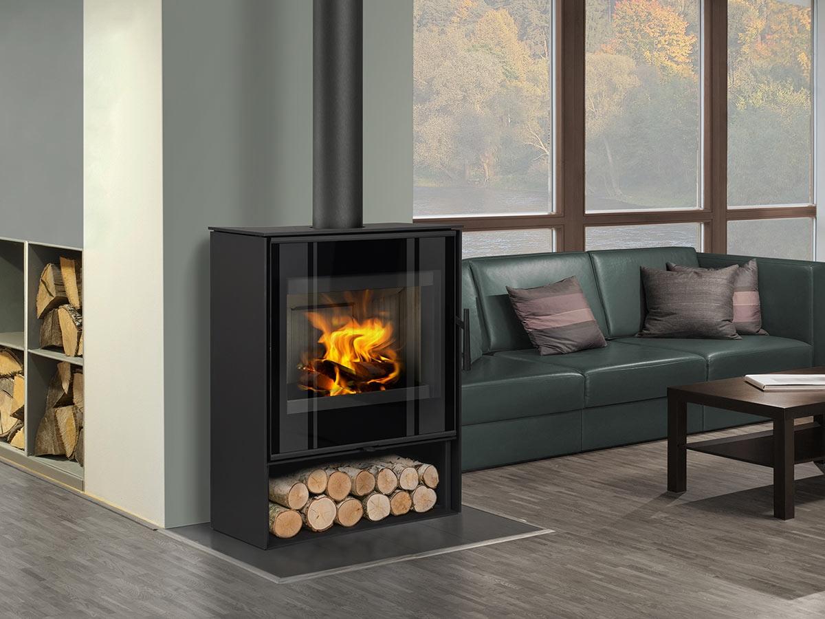Aledo 03 Steel Fireplace Stove