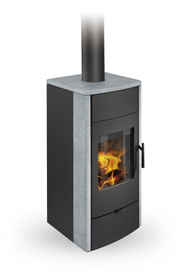 ESPERA 02 serpentine - fireplace stove with water exchanger and double glazing