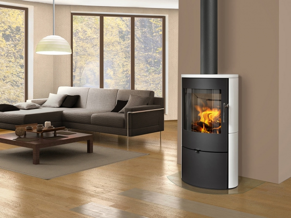 OVALIS 05 ceramic - fireplace stove