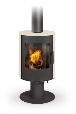 EVORA T 01 ceramic - fireplace stove