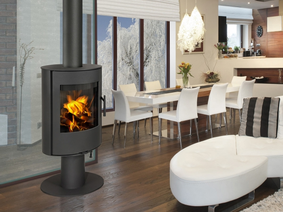 EVORA T 03 steel - fireplace stove